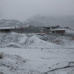 熊本はいつもより早く雪が来た